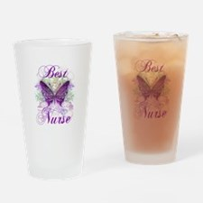 Best Nurse Drinking Glass
