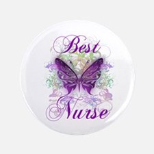 "Best Nurse 3.5"" Button"