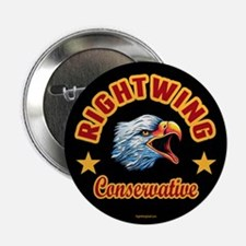 """Right Wing Conservative 2.25"""" Button (10 pack)"""