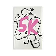Fancy 5k Rectangle Magnet (100 pack)