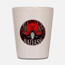 Club bad ass Shot Glass