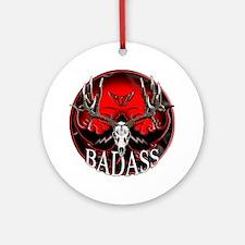 Club bad ass Ornament (Round)