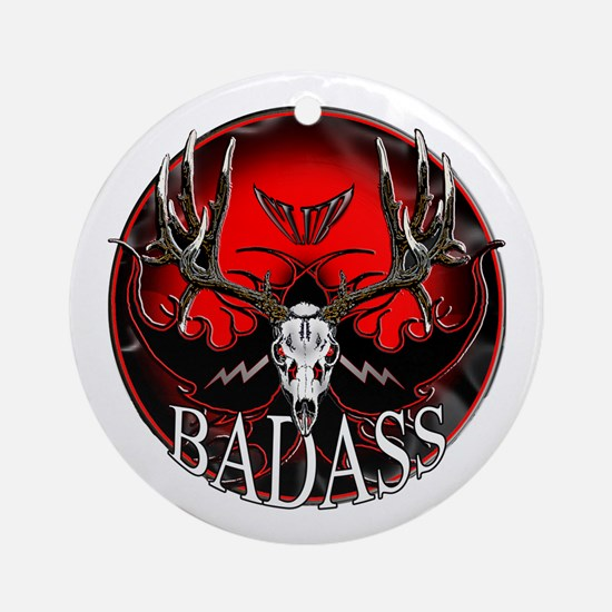 Club bad ass Ornament (Round)