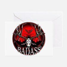 Club bad ass Greeting Card