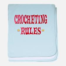 Crocheting Rules baby blanket