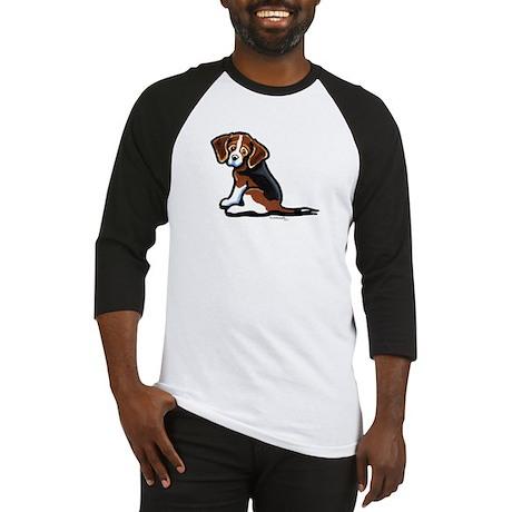 Cute Tri-color Beagle Baseball Jersey