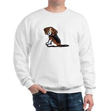 Cute Tri-color Beagle Sweatshirt