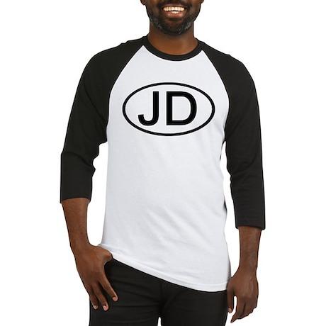JD - Initial Oval Baseball Jersey