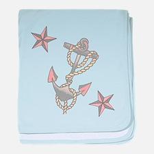 Anchor baby blanket