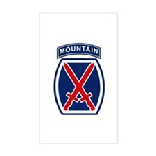 10th Mountain Division Decal
