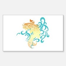 Coi Fish Decal