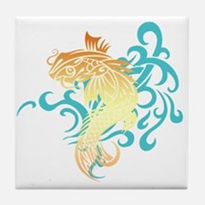 Coi Fish Tile Coaster