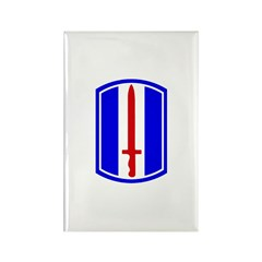 13th Infantry Regiment Rectangle Magnet (10 pack)