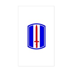 13th Infantry Regiment Decal