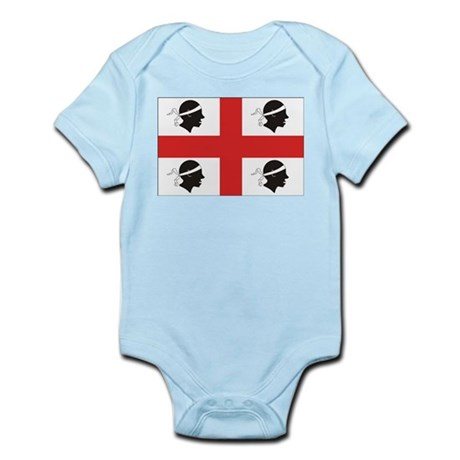 Sardinia Flag Infant Creeper