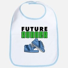 Future Runner Boy Bib