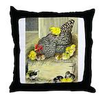 Mother Hen Throw Pillow