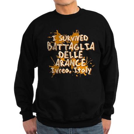 Battle of Oranges Sweatshirt (dark)
