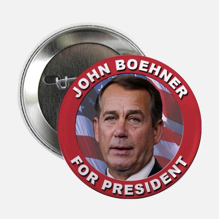 """John Boehner for President 2.25"""" Button"""