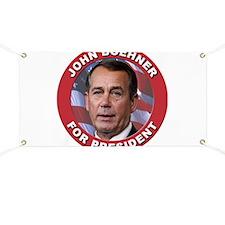 John Boehner for President Banner