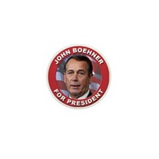 John Boehner for President Mini Button