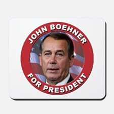 John Boehner for President Mousepad
