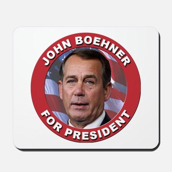 John Boehner for President Mousepad