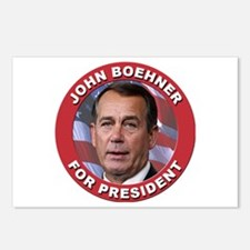 John Boehner for President Postcards (Package of 8