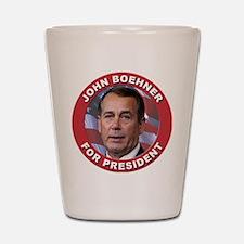 John Boehner for President Shot Glass