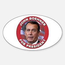 John Boehner for President Decal