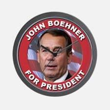 John Boehner for President Wall Clock