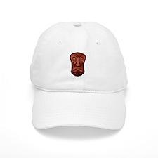 Unhappy Brown Tiki Baseball Cap