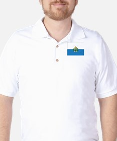 San Marino Flag Golf Shirt