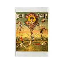 Descente D'Absalon Rectangle Magnet
