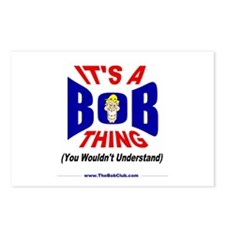 """""""It's A Bob Thing"""" Postcards (Package of"""