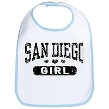 San Diego Girl Bib