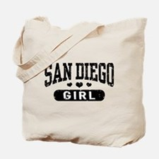 San Diego Girl Tote Bag