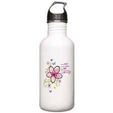 For it is by Grace you have been Saved Water Bottle
