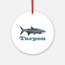 Record Tarpon Ornament (Round)