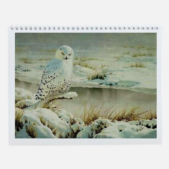 Owl Tree Wall Calendar