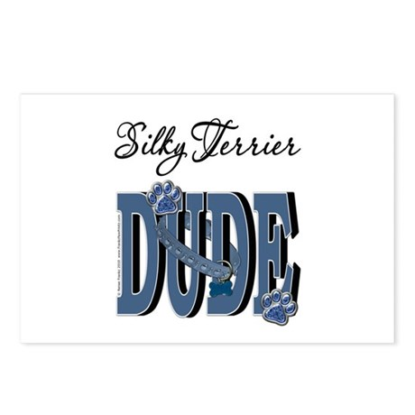 Silky DUDE Postcards (Package of 8)