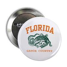 Florida Gator Country Button