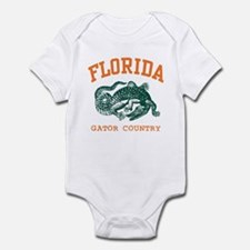 Florida Gator Country Infant Creeper