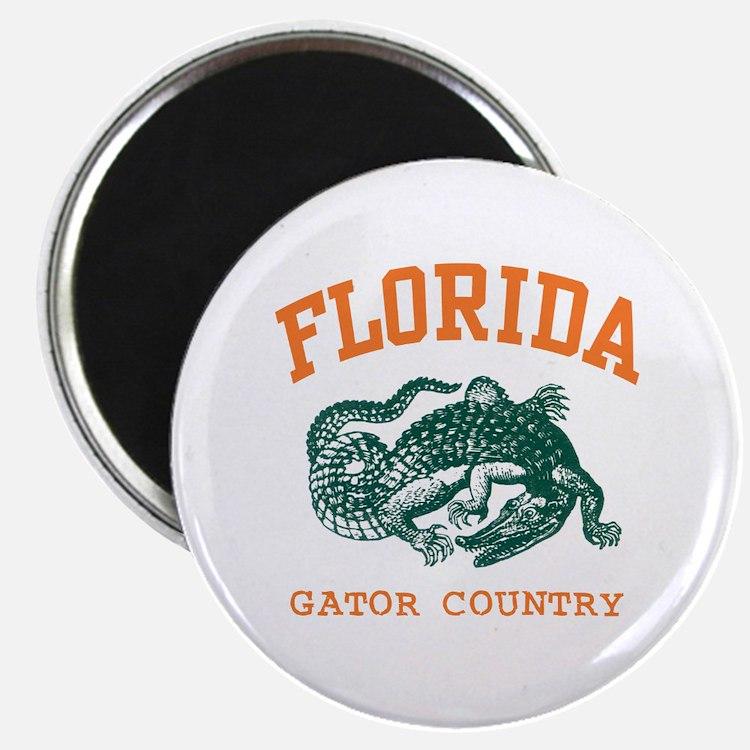 Florida Gator Country Magnet