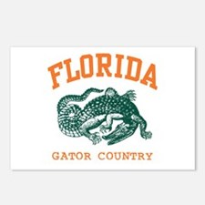Florida Gator Country Postcards (Package of 8)