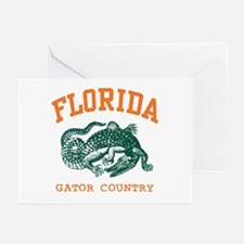 Florida Gator Country Greeting Cards (Pk of 10