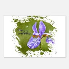 Unique Iris Postcards (Package of 8)
