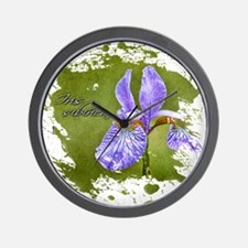 Unique Botanists Wall Clock