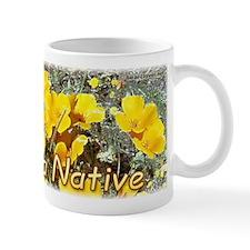 """California Native"" Poppy mug"