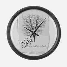Tree and Life Large Wall Clock